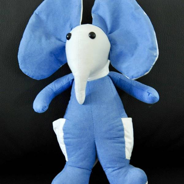 Bilde av MiteBlock Kosedyr Elefant, blå